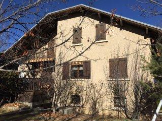 Une Maison de Famille a la Montagne Ski et ballades