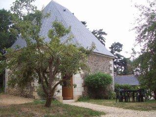 Ancienne chapelle renovee chez le vigneron