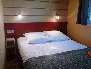Alsace - charme et confort en mobil home - près Europaparc - proche Allemagne