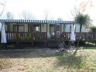 Mobi-home tout confort 4/6 couchages village vacances ****