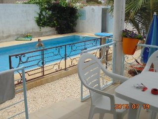 Villa vacancy pool, Peace and quiet. Output Sea fishing