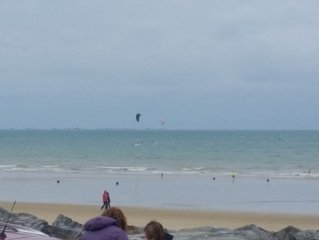 Appartement de caractère face à la plage des Rosaires en Bretagne