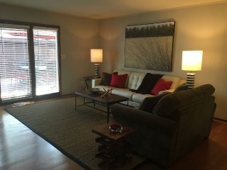 Comfy, cozy, bright home—Walk to Canton St. restaurants, shops—Pet Friendly!!!