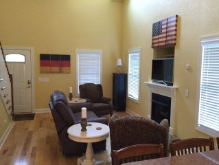 Spacious Townhouse at Innsbruck Resort and Golf Club in Helen, GA