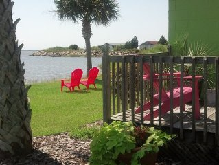 Waterfront Cottage on Bogue Sound.  Located between Swansboro & Morehead City,NC