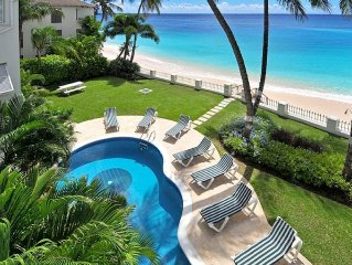 Amazing Beachfront Condo With Pool On Tranquil Worthing Beach - Leith Court #12