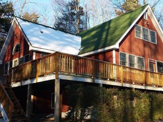 Newley Rennovated 5br Chalet W/hot Tub, 10 Mins To Mt. Snow, 20 Mins To Stratton