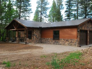 Blessed Pines Cabin, Secluded 7 Acres Surrounded By Lincoln National Forest