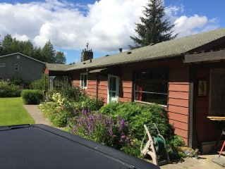 Studio apartment, full kitchen, 1 bath, near Juneau airport