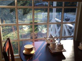 Wisteria Cottage.  Award Winning.  Historic District.  Ultra Charming.