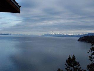 Flathead Lake, Montana     Lake House