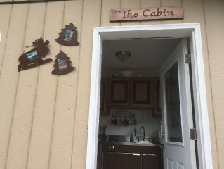 New!! Back Woods Cabin... End Of The Road, Quiet...