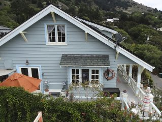 Our Historic Home Built As A Hiking Hostel has It all. Views Of Surf And Hills