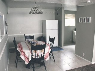 New! Close to canyons, sleeps 5