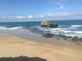 Fantastic ocean view, in the heart of Biarritz.