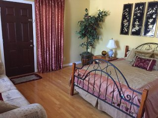 Private Large 1 Bedroom With Attached Bath & High Speed Internet In Cupertino C