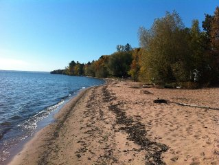 Lake Superior Waterfront.  Short Drive To Bayfiel