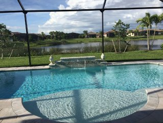 New Gated Community Near Beach - Heated Pool with Lake View - Pet Friendly