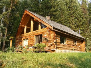 Handcrafted Log House in Beautiful Beaver Valley, near Horsefly BC