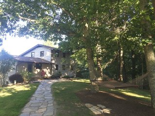 Hilltop House On 15 Acres Just 15 Minutes From Virginia Tech!