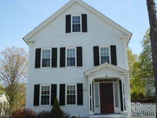 Charming Home In Historic Walpole Village - Sleeps 10