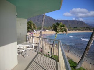 BEST PRICING for DIRECT SANDY BEACH /  OCEAN FRONT...Deluxe  w/ double balcony