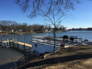 Waterfront Living On Back Creek!