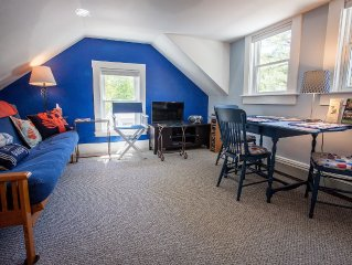 Lovely, private, convenient (Video Tour) walk to Boothbay Harbor