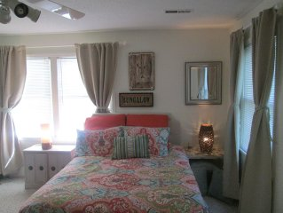 Cozy Bungalow Retreat, Just 10 Min. To Wrightsville And 7 Min. To Mayfaire