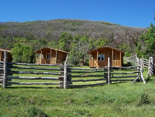 Rustic cabin in majestic mountain setting minutes from Glenwood, Aspen, Vail