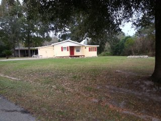 Lake Front Home 2/2, Golf, Beaches & Nature, A Day Trip To Disney plus