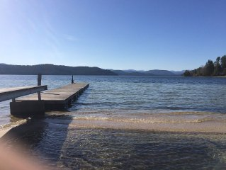 Plan Your Dream Vacation At Priest Lake With 500' Ft Of Sandy Paradise!