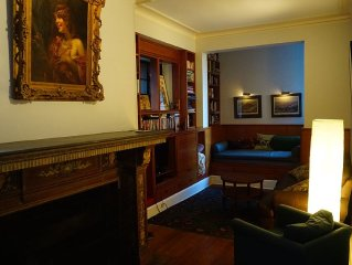 2 bedroom/2 bath floor in West Village townhouse