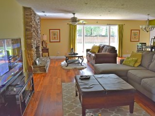 Suburban escape- Spacious, Modern Ranch Perfect for your CLE visit!