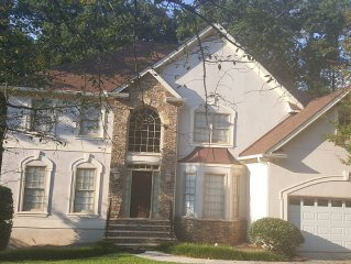 Palace In The Burbs Of Stone Mountain