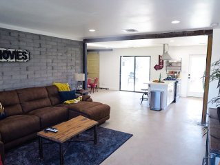 Newly remodeled 4 bedroom, Industrial Style House!