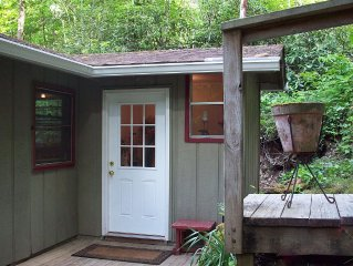 Mossy Rock Cabin -secluded Location With Lake Glenville Access.