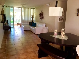 Beachfront 3BR 2BA Condo 15 Meters From A Beautiful Beach In Puerto Rico