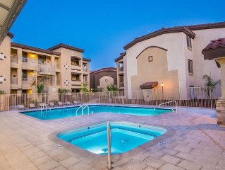 Upgraded Penthouse with Pool and Mountain Views. Resort Style Gated Community.