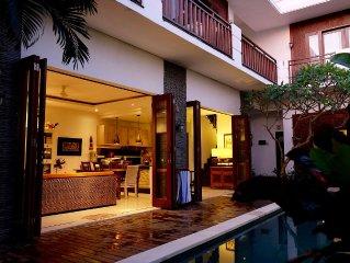 Bali Tropical Villa With Rice Paddy View