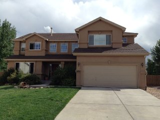 Open Family-Friendly Home Near the Air Force Academy
