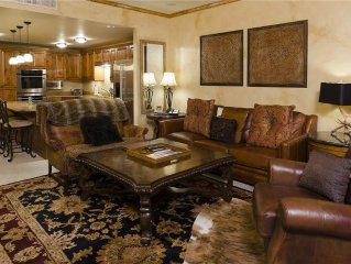 Luxurious decor & incredible onsite guest services, steps from ski area!