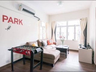Central 2BedRoom LanKwaiFong wRoof 7B