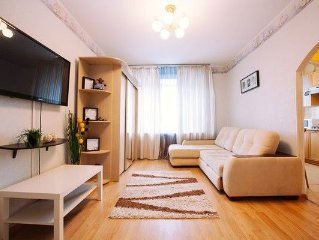 Nice 1-room apartment, 7 mins to metro