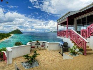 Sunset House - Impressive hilltop mansion command