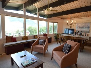 Charming 2 bedroom condo, wallking distance to downtown Aspen. ShadMtn20