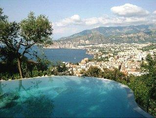 Villino Clizia e una romantica e accogliente villa su due piani con vista sul m