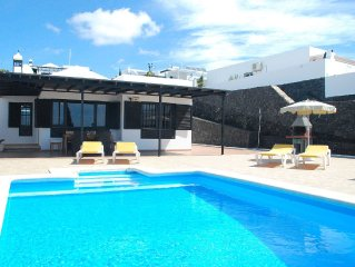 Detached villa with a private swimming pool in Puerto del Carmen on Lanzarote