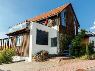 Detached 5 star holiday residence with all comforts and a wonderful panoramic v