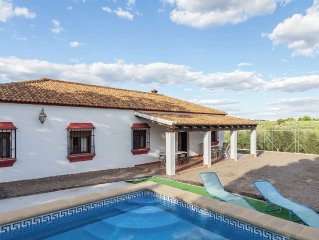 Andalusian  villa with private pool and tennis co